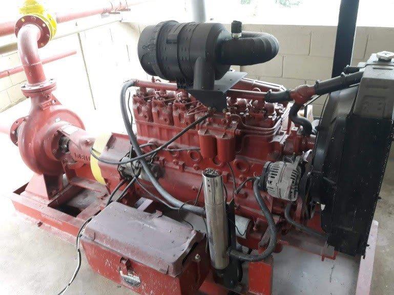 Manutenção de sistemas de combate a incêndio