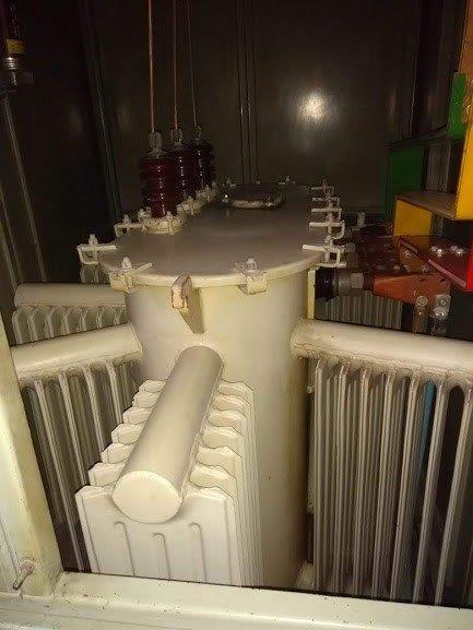 Serviço de filtragem de óleo de transformador