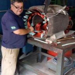 Consertar motores eletricos