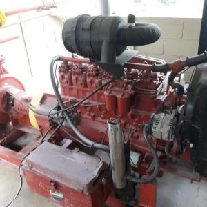 Manutenção de sistemas de combate a incendio